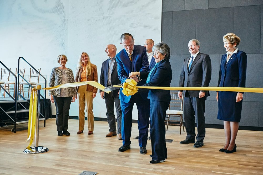 Asbjornson ribbon cutting.jpg