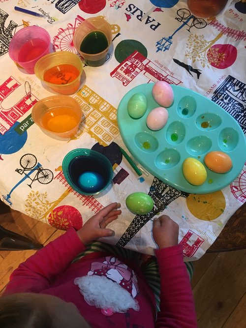 Our Recipe For This Week Was Using The PAAS Easter Egg Dying Kit We Didnt Feel Need To Get Elaborate On Year As It