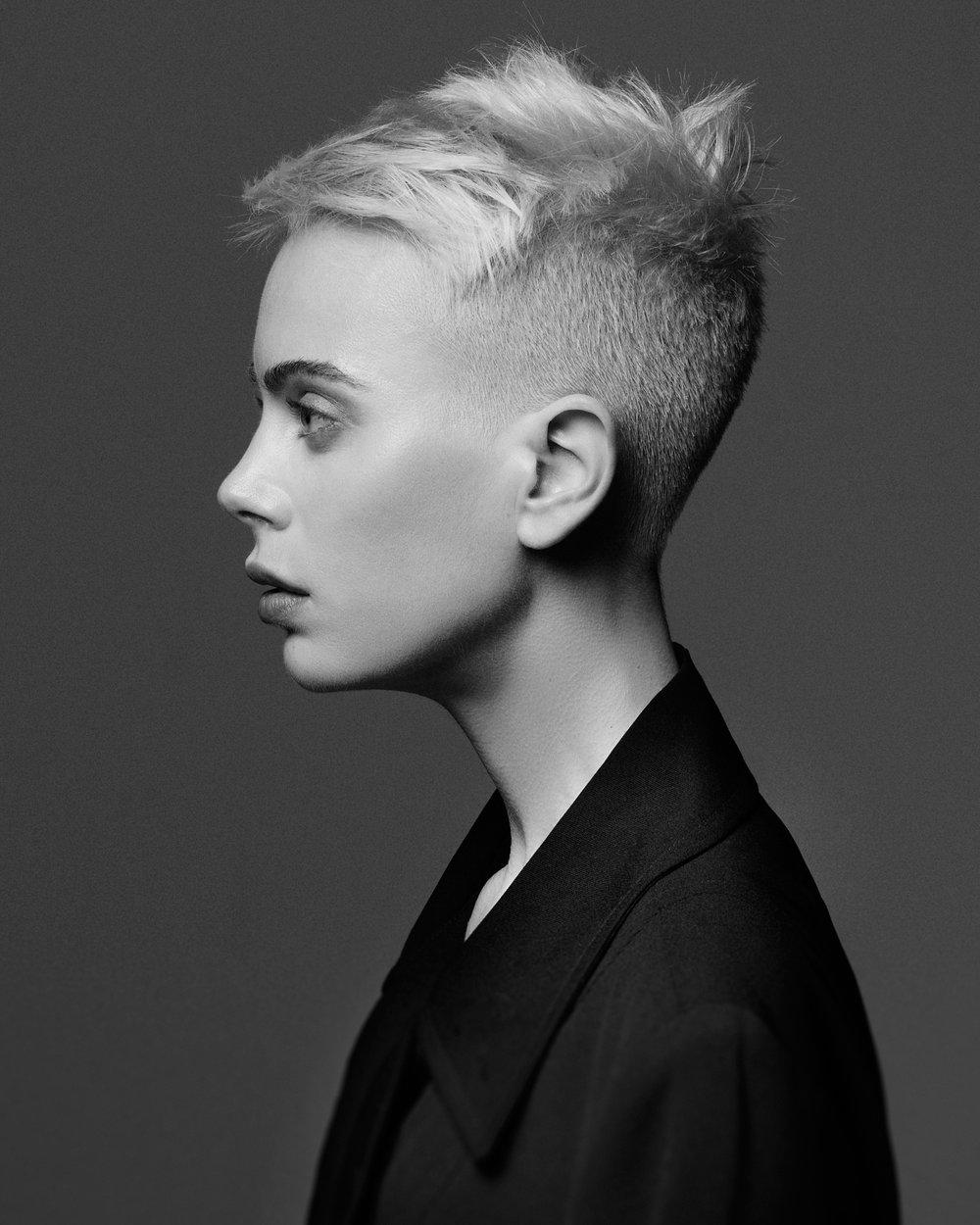 Hair by Nick Berardi / Model Madeleine Vintback