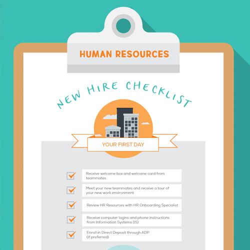 Human Resources Onboarding Checklist   Embrace Home Loans