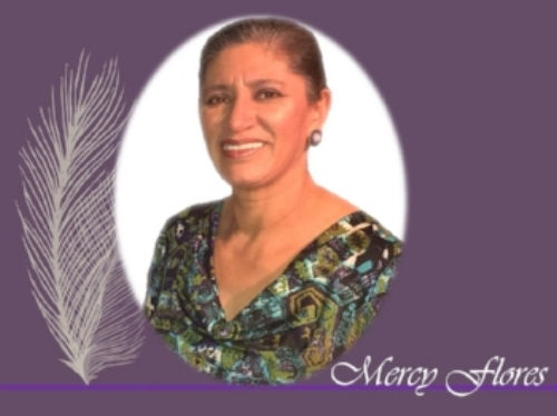Mercy Flores, Premio a La Mujer  Mercy Flores, originaria de Quito, Ecuador llego a este país a los 21 anos de edad con solo $400 dólares y una maleta llena de sueños. Se convirtió en empresaria y destacada líder dentro de la industria de Cuidado Infantil Hogareño. Ella también es una luz para mujeres empresarias. Mercy es una gran motivadora y busca las oportunidades para ella, su familia y otros.