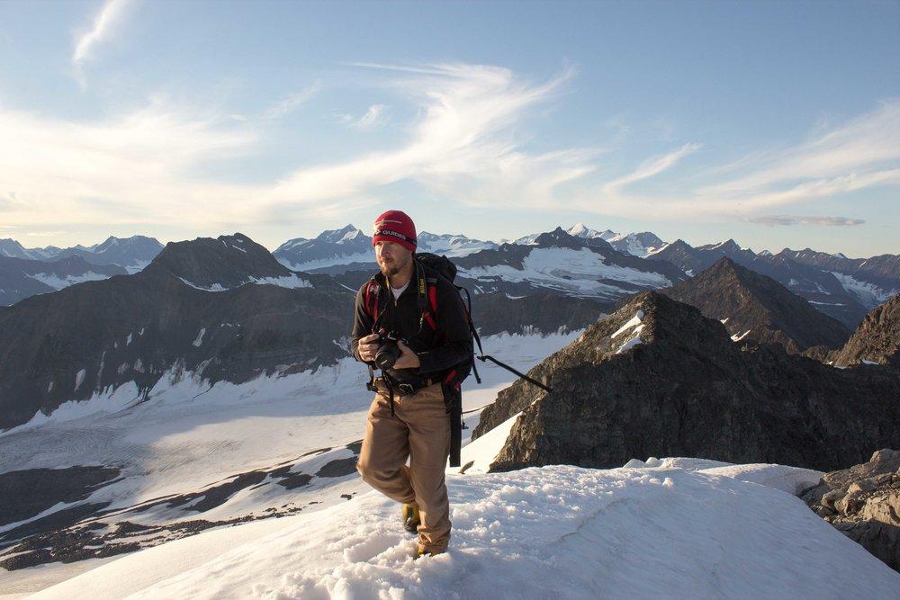 Josh Cooley in Alaska