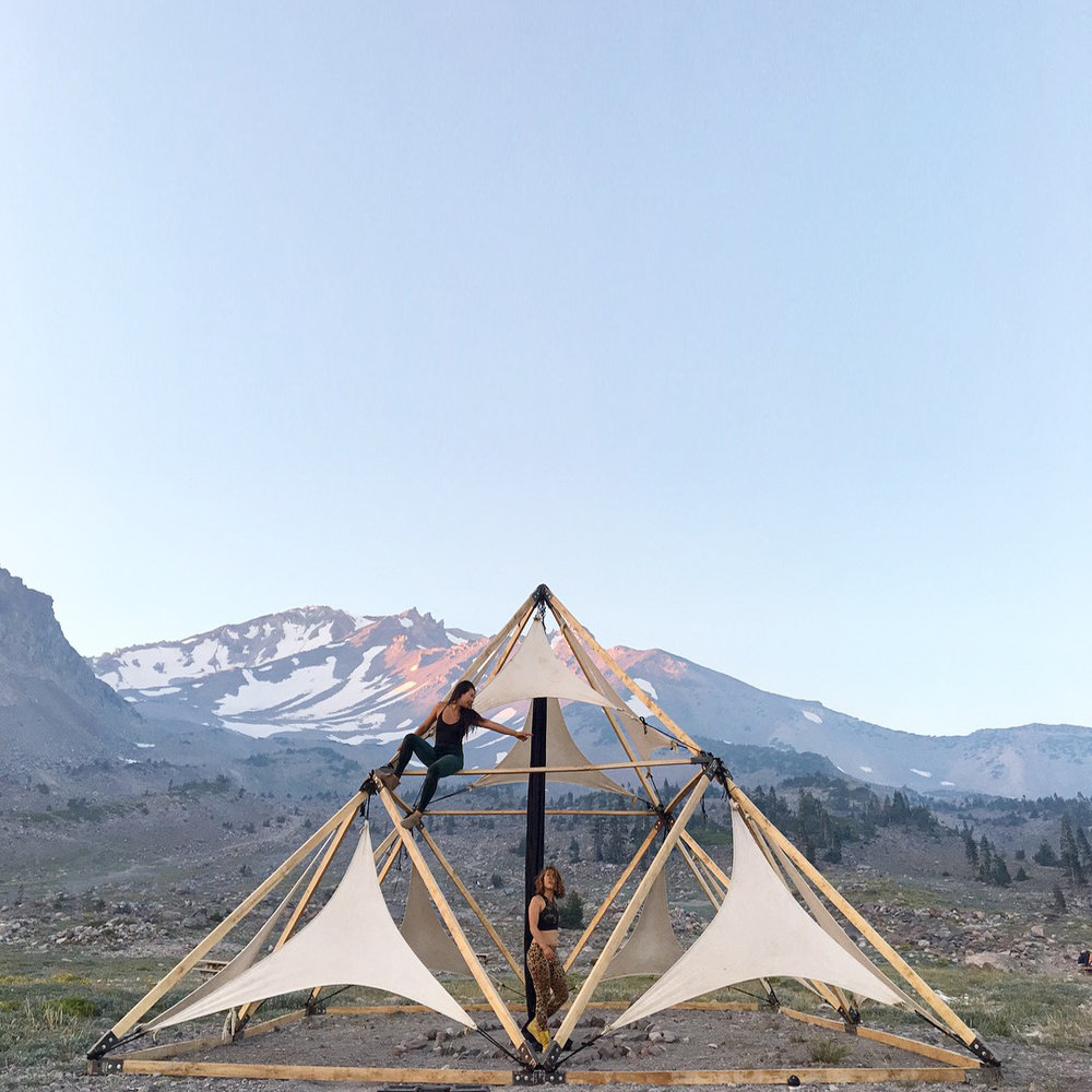 pyramid activation, mount shasta