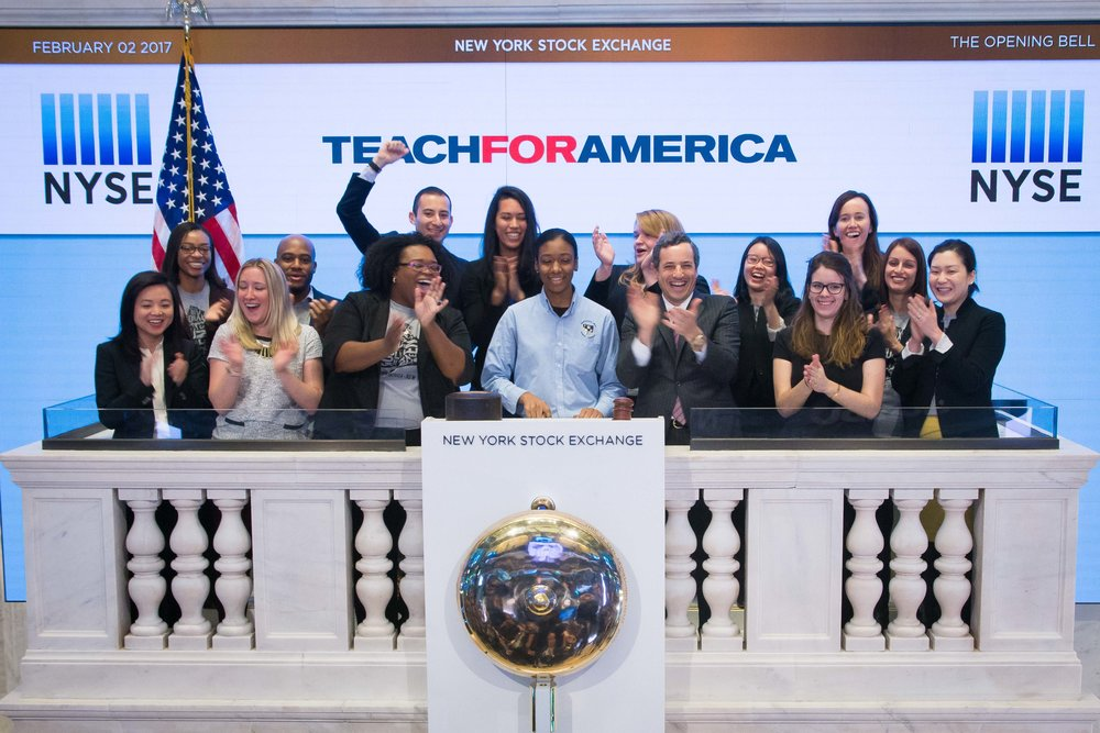 Ringing the Opening Bell at the NYSE with TFA