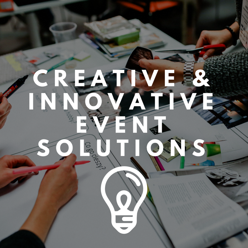 "We offer creative & innovative event solutions. We operate as a one stop shop including an in-house AV division, a promotional products distribution and beyond. Anything you need - we have a ""make it happen"" attitude!"