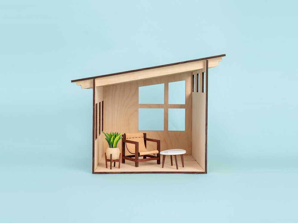 'Simple Kit' Dollhouse Furnishings   The San Francisco    Shop Now!