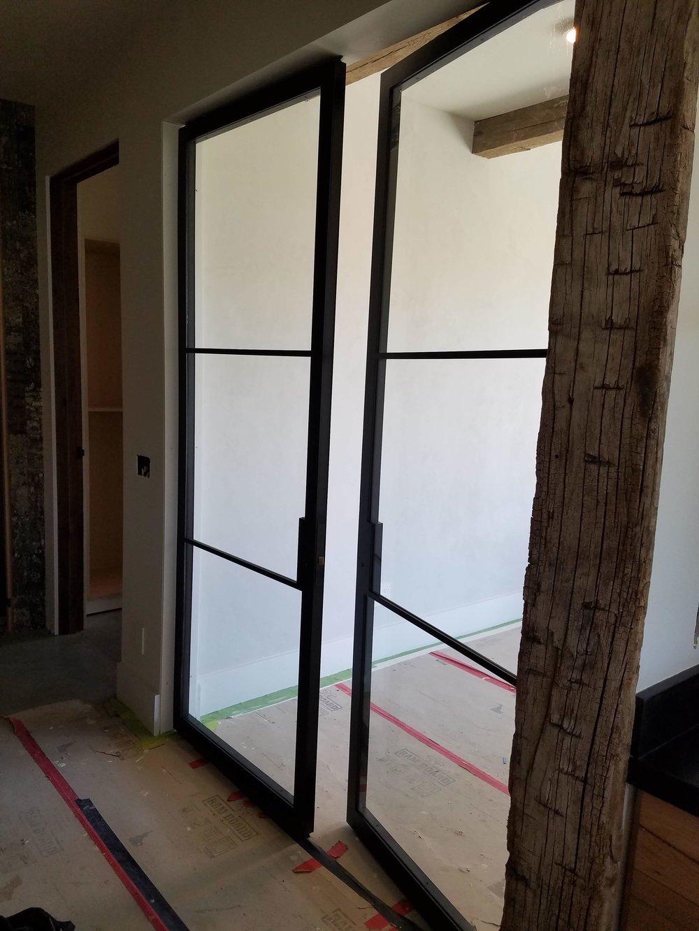 - Interior Steel door