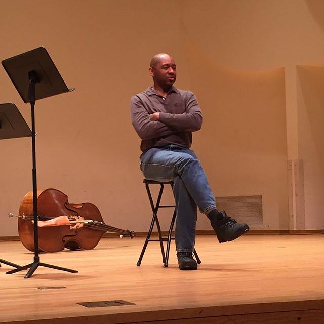 Wonderful Q and A with Branford Marsalis today.