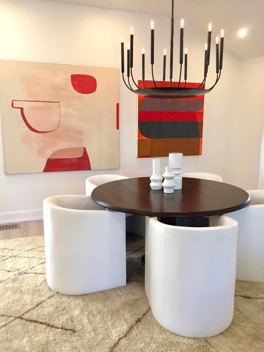 Denver Designer Show House dining room,  from Denver Post story on the Hilltop home