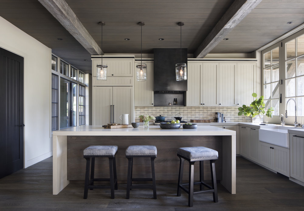 Loved writing about what's trending in kitchen design in resort homes for this  Mountain Living article