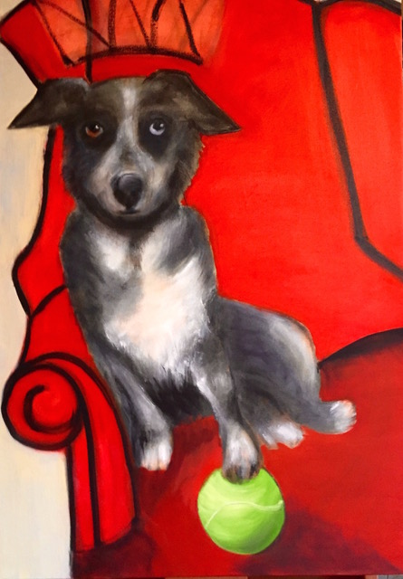 Story on pet portraits  included his one from Andy Mallen. This is a growing industry!