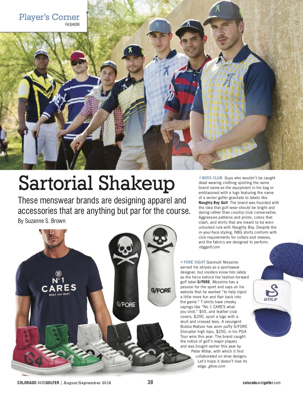 These brands are shaking it up in the golf world, as I wrote about in Colorado Avid Golfer.