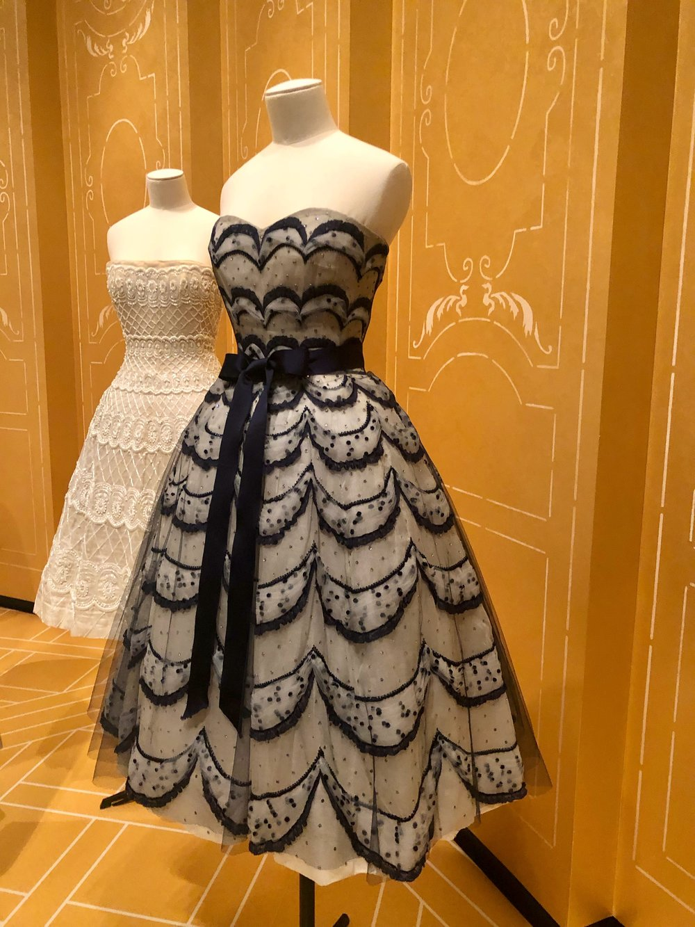 """Dior: From Paris to the World"" will be at the Denver Art Museum until March 3. I wrote a story about the h ouse's history and legacy  for The Denver Post."