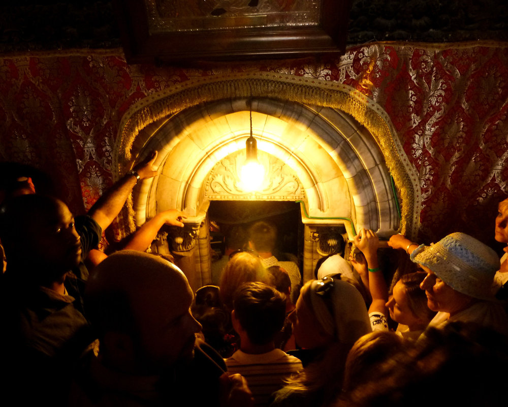 Photo:   Katie Archibald-Woodward :  Awaiting The Messiah  (Church of the Nativity, Bethlehem, West Bank, Palestine. 2011)