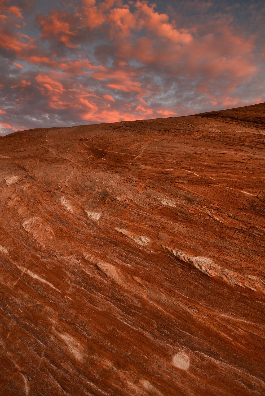 Sunset on Mars