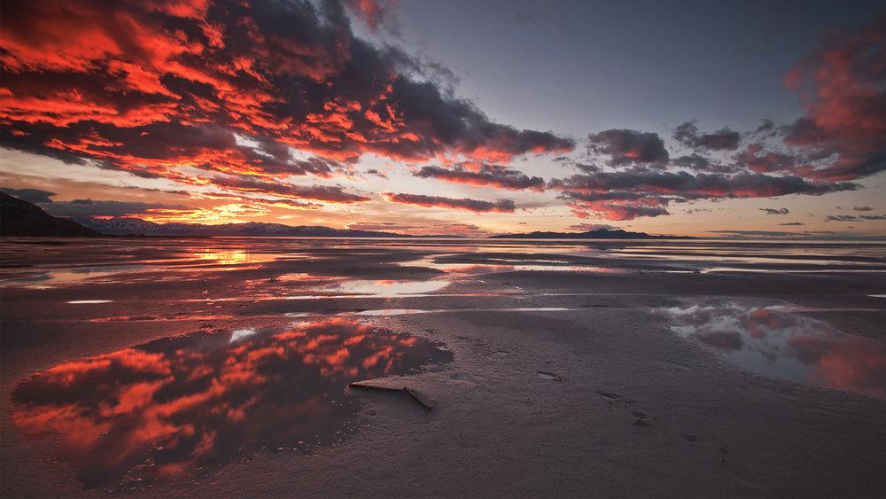 Explosive Sunset