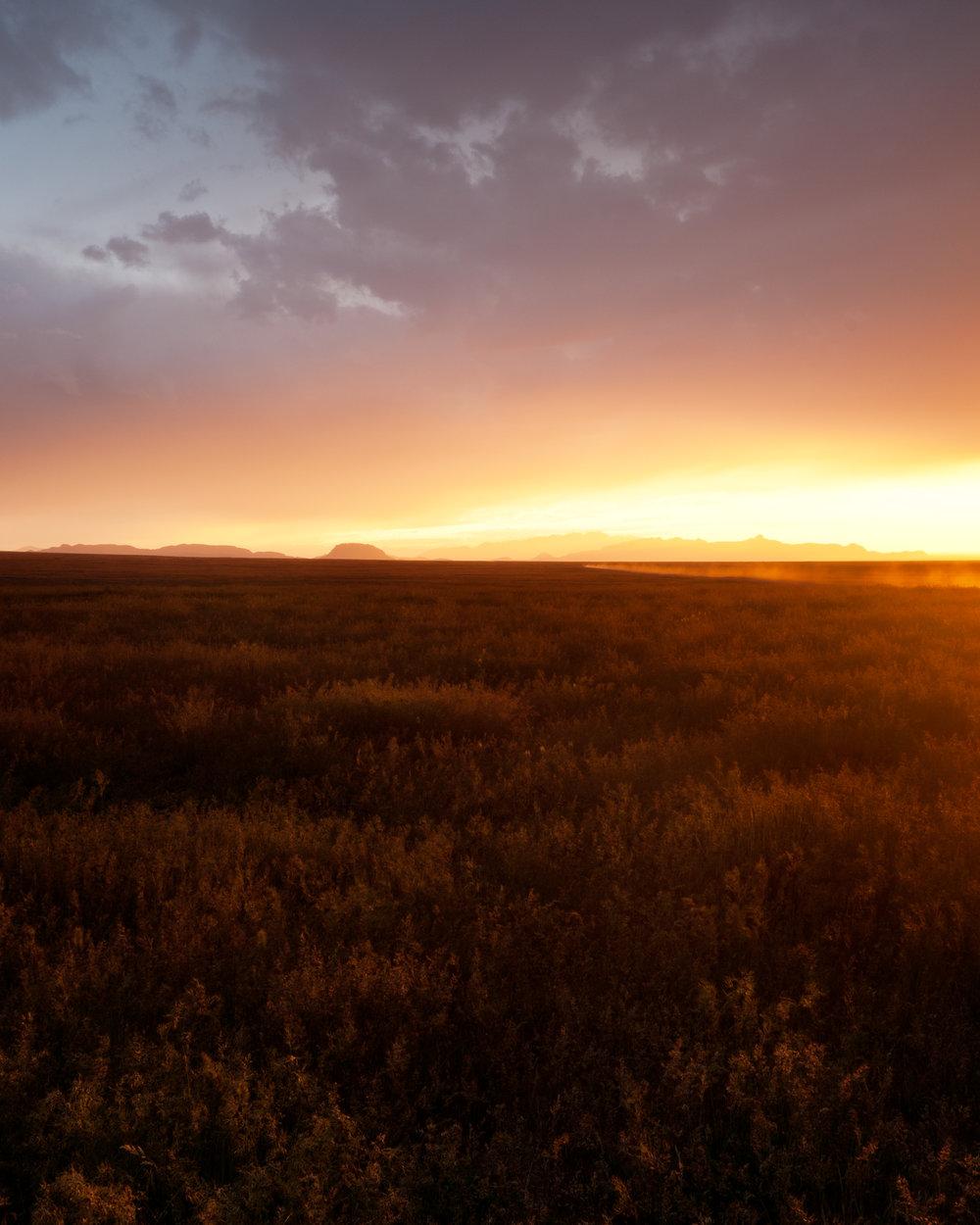 Pony Express Sunset