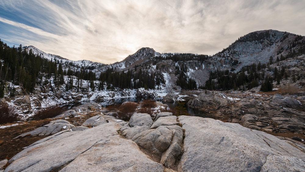 Early Mountain Snow