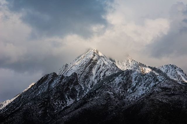 """""""Grandeur [2019]"""" - Moody afternoon light over Mt. Olympus. Lately I've had a real obsession with this mountain, and have decided to work toward a series this year featuring this peak in all its impressive glory.  #nature #landscapephotography #nikonnofilter #ourplanetdaily #earthpix #outdoorphotography #artofvisuals #ig_naturelovers #ig_shotz #ig_landscape #landscape_captures #pictureline #westbysouthwest #epic_landscape #utah #utahillustrated"""
