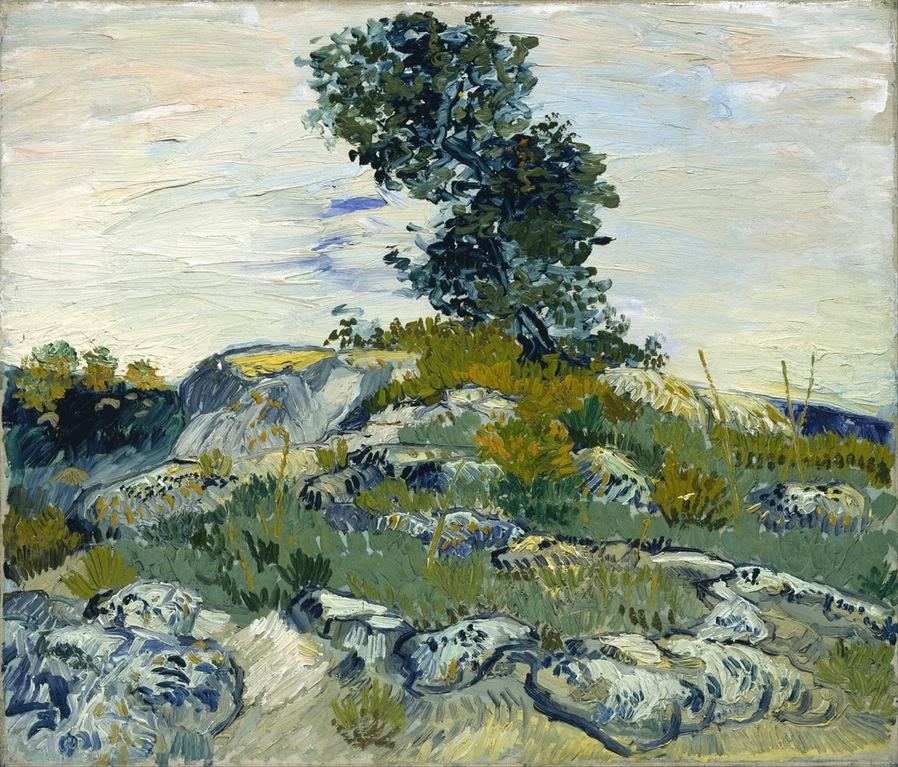 The Rocks - Vincent van Gogh