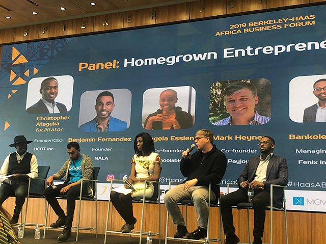 Huge shout out to our #HomegrownEntrepreneur panel! We're excited for your insights #AfricaOnTheMove #HaasABF