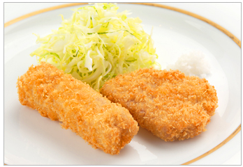 Loose Cutlet And Fillet Cutlet With Cutlet Sauce And Delicious Salt