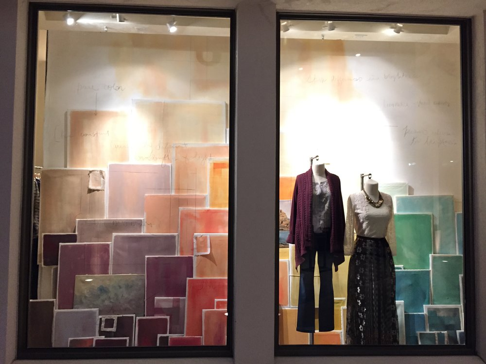 Spring Window Display 2015 for Anthropologie