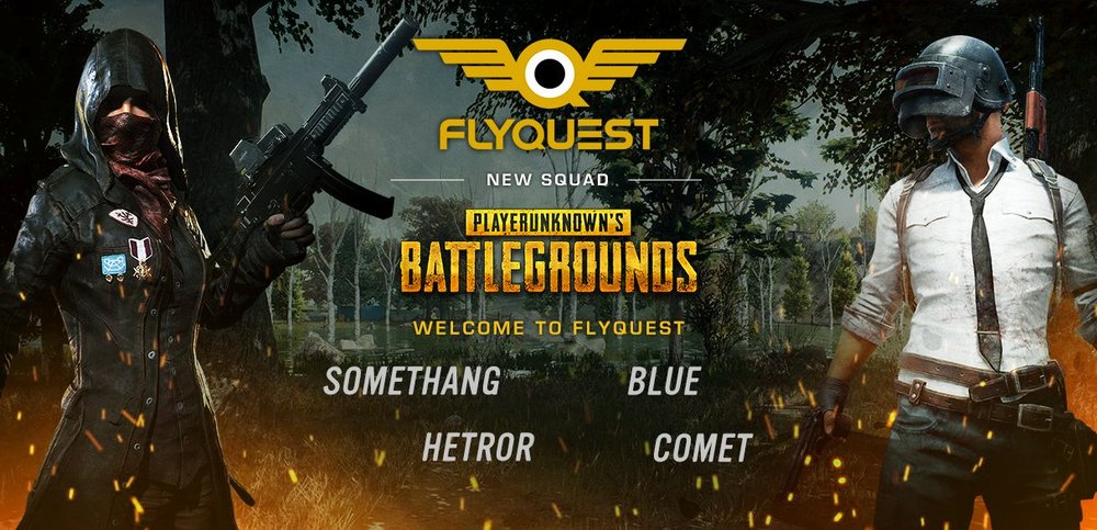FlyQuest Continue to Grow Their Brand with Expansion into PlayerUnknown's Battlegrounds - Thursday, October 12th , 2017New York, NY – Today FlyQuest Sports, an esports organization owned by Fortress Investment Group co-founder and Milwaukee Bucks co-owner Wes Edens, announced their expansion into PLAYERUNKNOWN's Battlegrounds, the latest title to be featured at a premier ESL event. After months of due diligence...