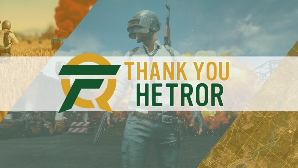 "Thank You Hetror - Thursday, January 11th, 2018Today, we are sad to announce that Jonathan ""Hetror"" Bent, a member of our PUBG team, will be parting ways with us here at FlyQuest. Towards the end of last year, another organization approached us with heavy interest in Hetror. After internal talks with the team, including Hetror, we all agreed that the opportunity which presented itself to him was too good to pass up at this time. Blue, SomeThang, and Comet will still rock the FlyQuest ban..."