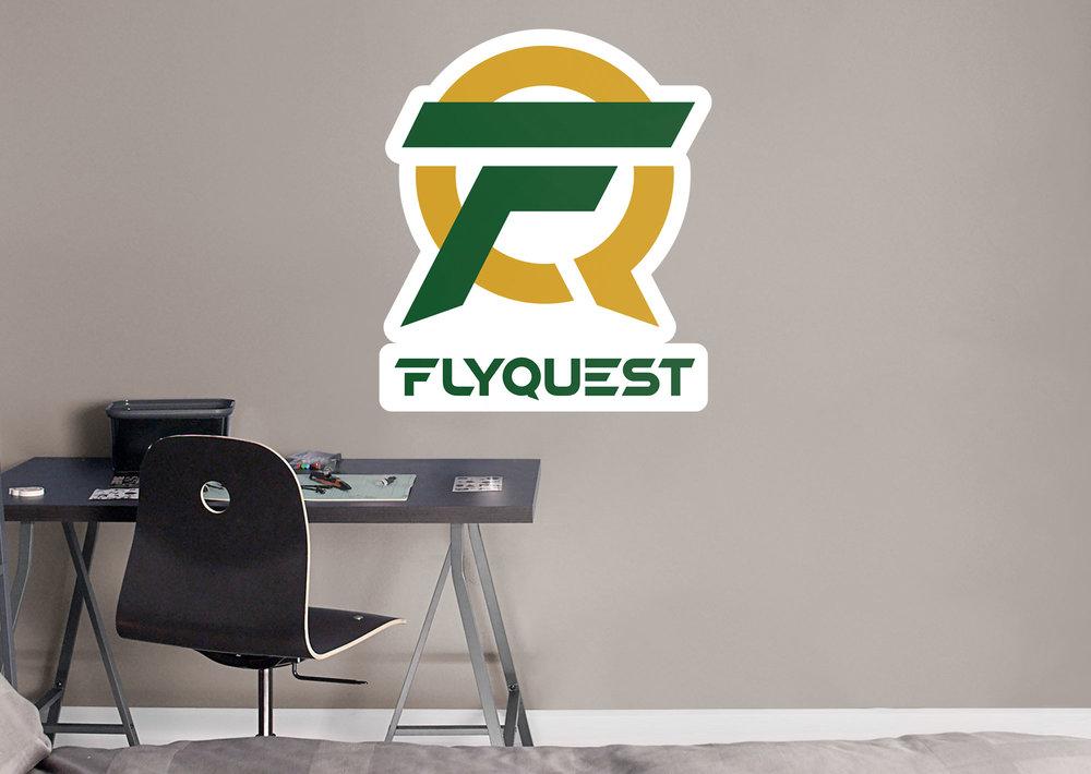 Fathead x FlyQuest Logo