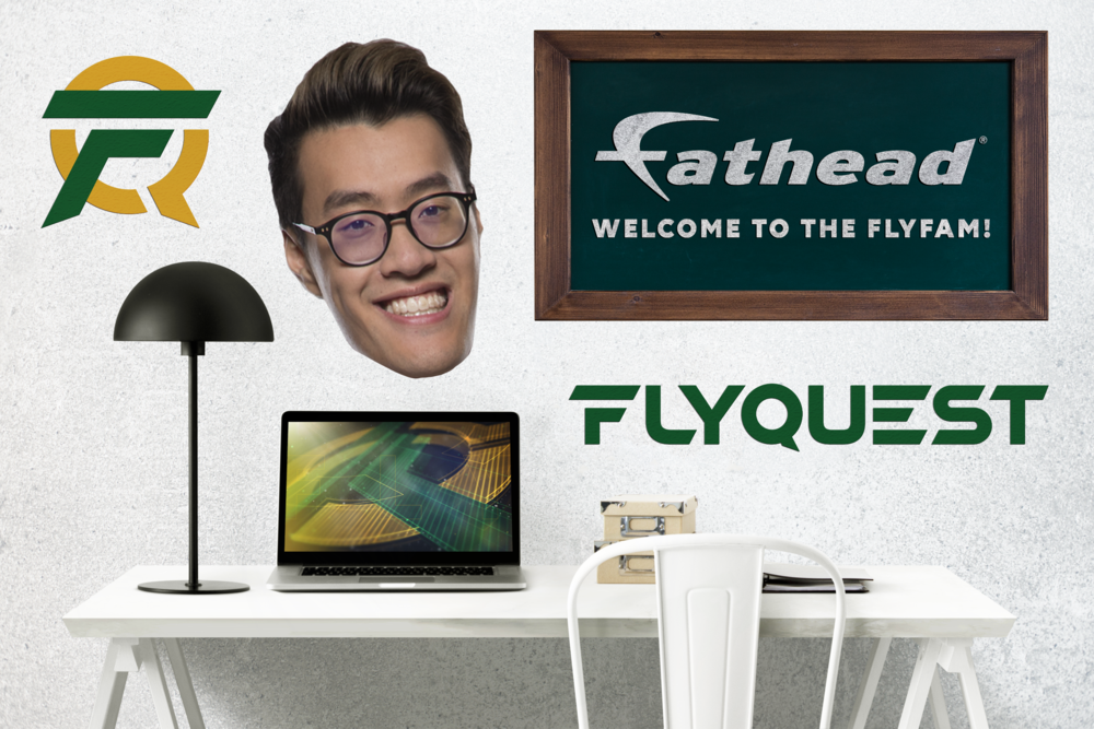 FlyQuest Enters Strategic Partnership with Fathead