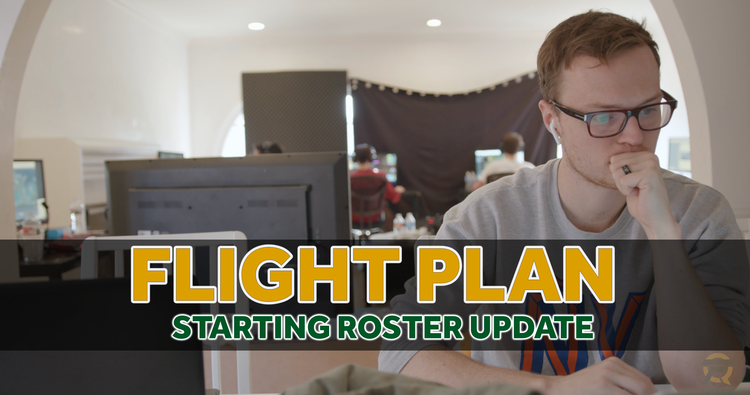 Flight Plan: Starting Spring Roster and Community Updates - Hey FlyFam and welcome to the first Flight Plan! This will be our way to provide you with a line of sight into the inner workings of us here at FlyQuest. For those of you who haven't met me yet, I'm Ryan Edens, CEO of FlyQuest. After a long journey, we are incredibly excited to finally step into Riot Studios and take on the best that North America has to offer. We feel that the roster we constructed this off season, both for the NA LCS and Academy League, gives us...