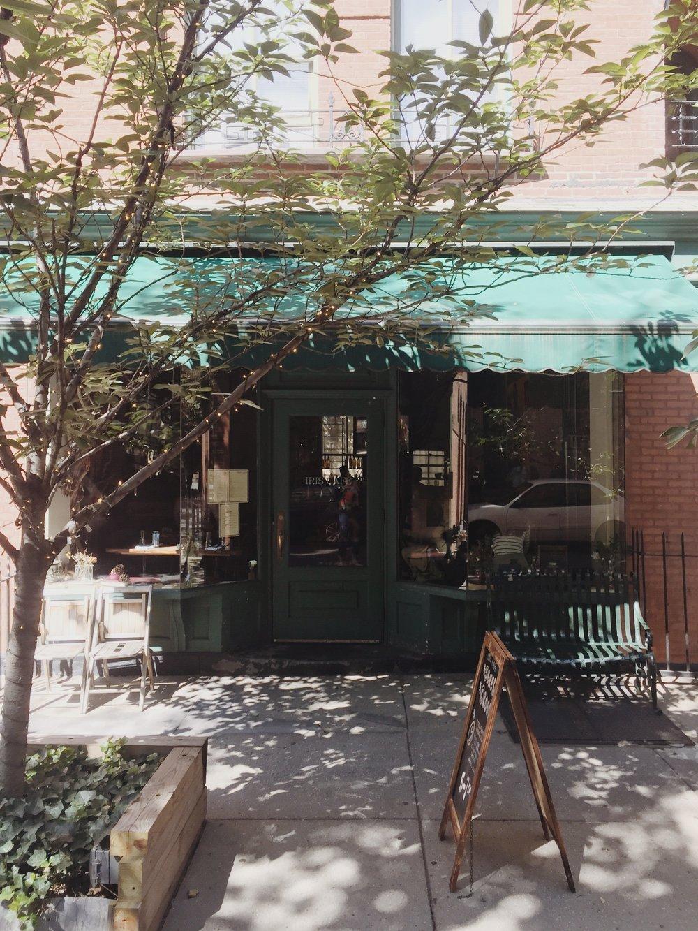 Iris Cafe, 20 Columbia Place