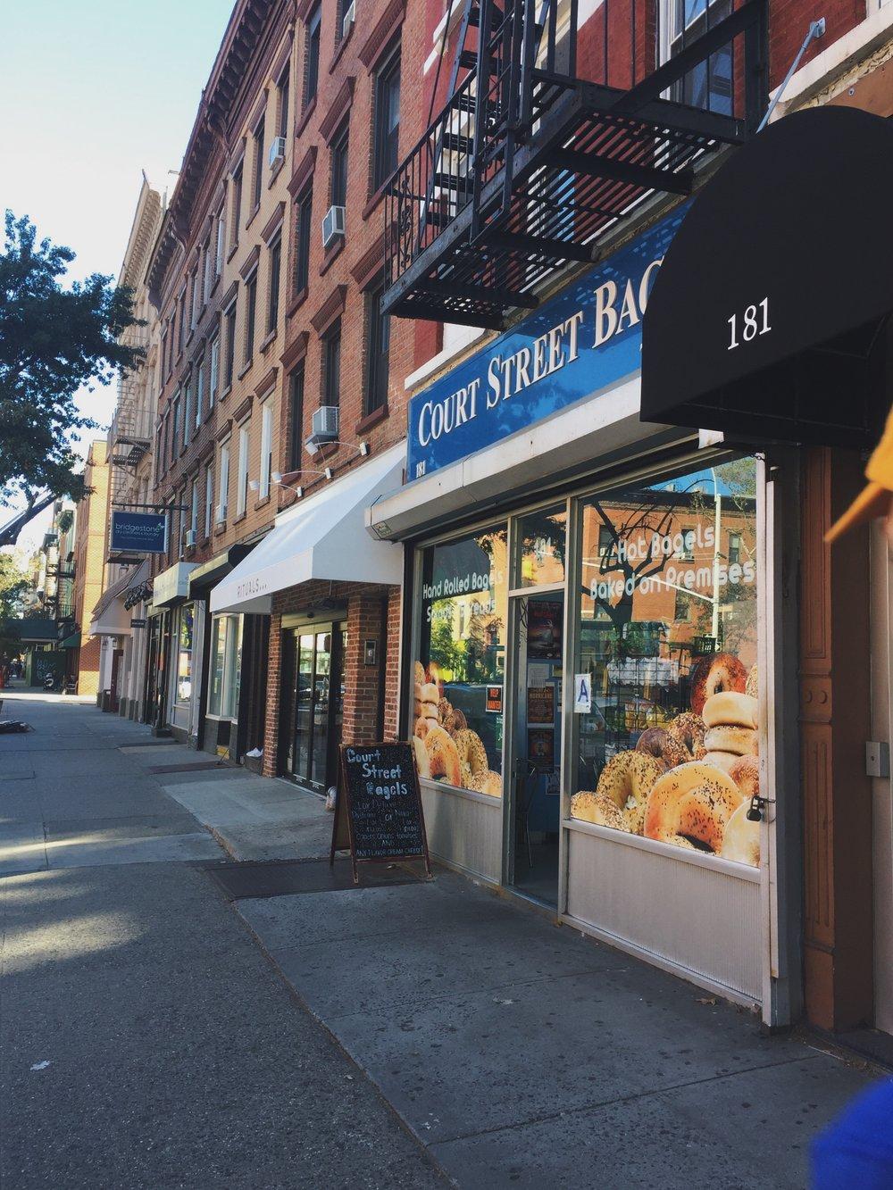 Court Street Bagels, 181 Court St.