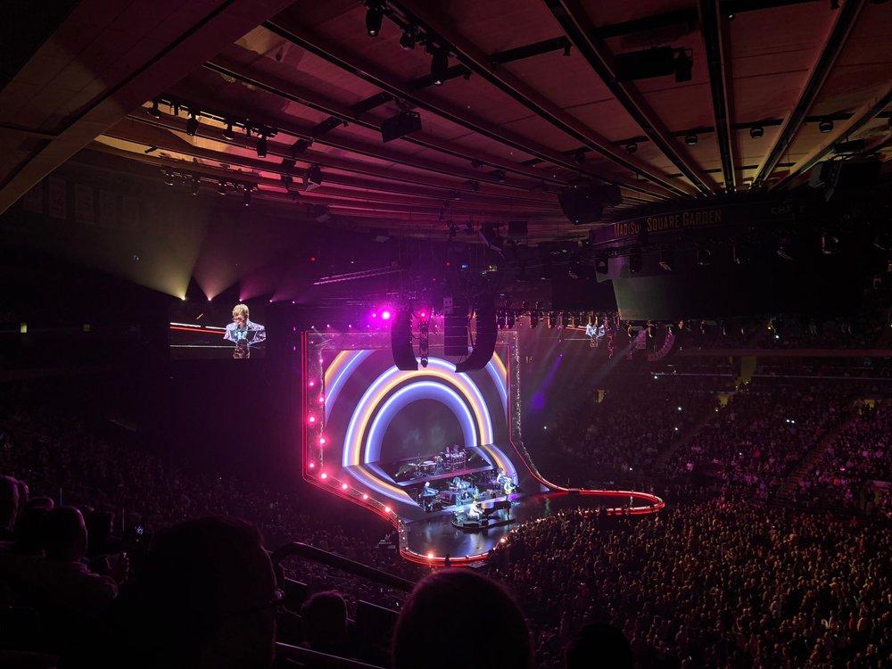 Elton John magic.