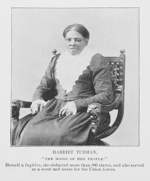 -         . . . Don't Mess with Harriet Tubman.