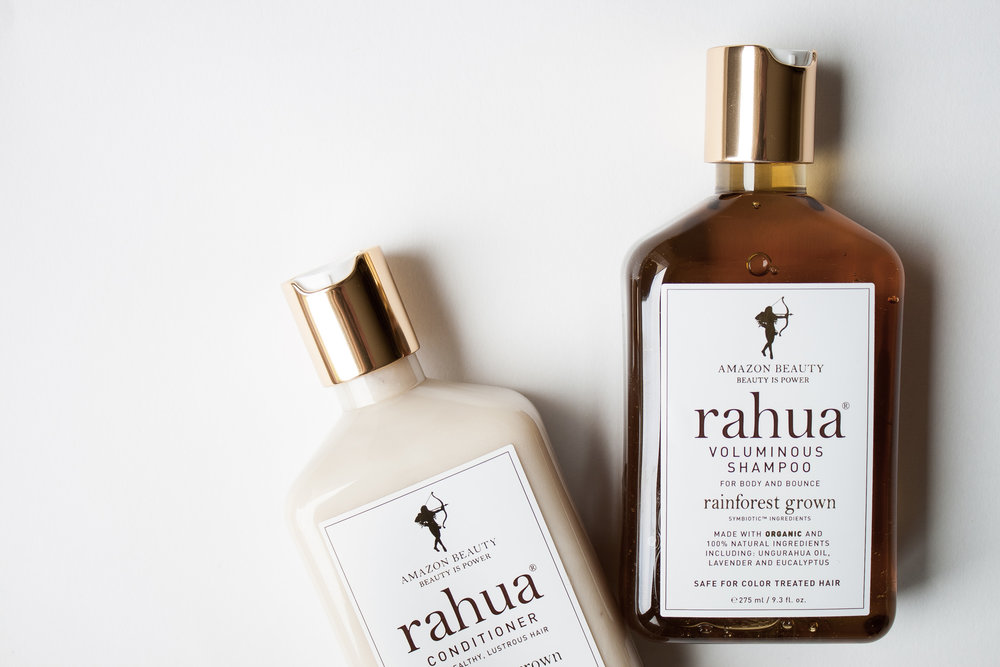 Natural Non-toxic Safe Hair Care with Rahua Shampoo and Conditioner