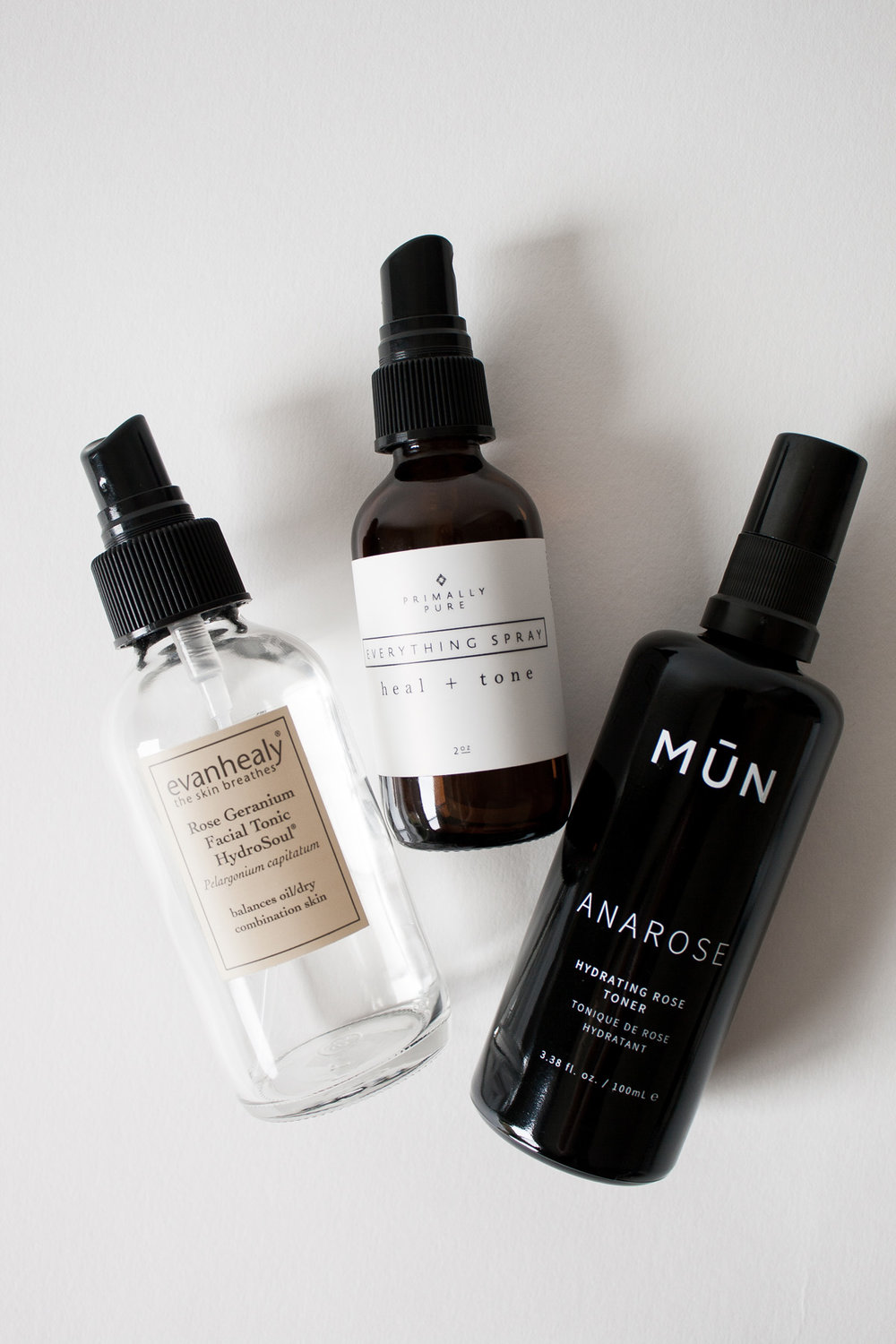 Three Favorite Organic Non-Toxic Skin Care Toners & Hydrosols