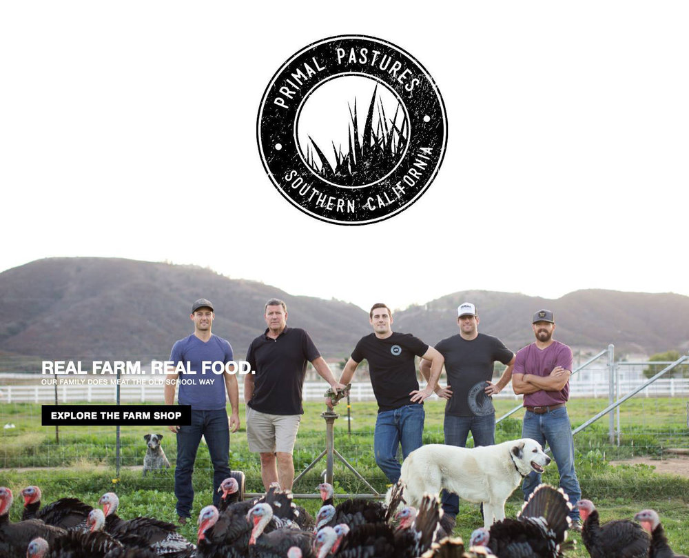 PRIMAL PASTURES    Pasture-Raised & Beyond-Organic Family Farm