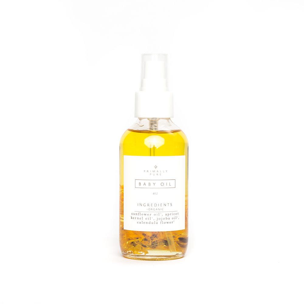 Pure Body Oil    Nourishing. Simple. Lasting.