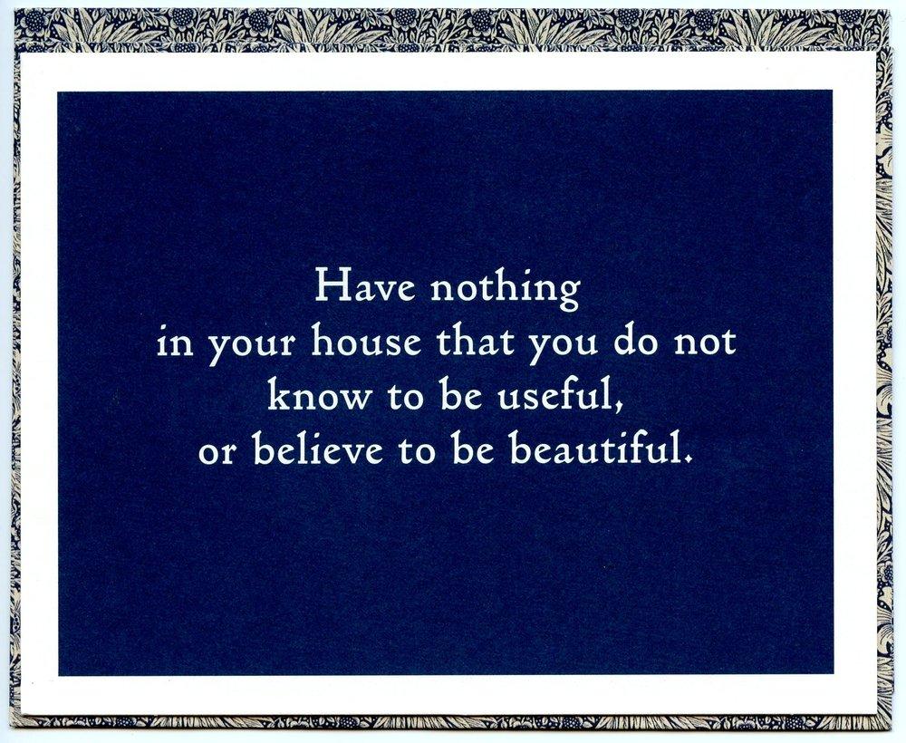 William Morris, 19th Century English designer and essayist