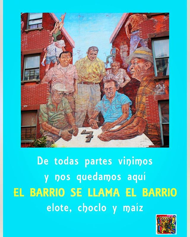 Immigrants from all over Latin America have made El Barrio their home and have brought their traditions along with them. El Taller is a place where those traditions and customs can be celebrated and interchanged. El Taller's concerts, art exhibitions and workshops not only reflect the traditions of El Barrio but further them by bringing them to people from all different backgrounds and people of all age groups.  #40yearsofeltaller #40yearstaller #elbarriosellamaelbarrio #elbarrio#comunidad #community #tradition
