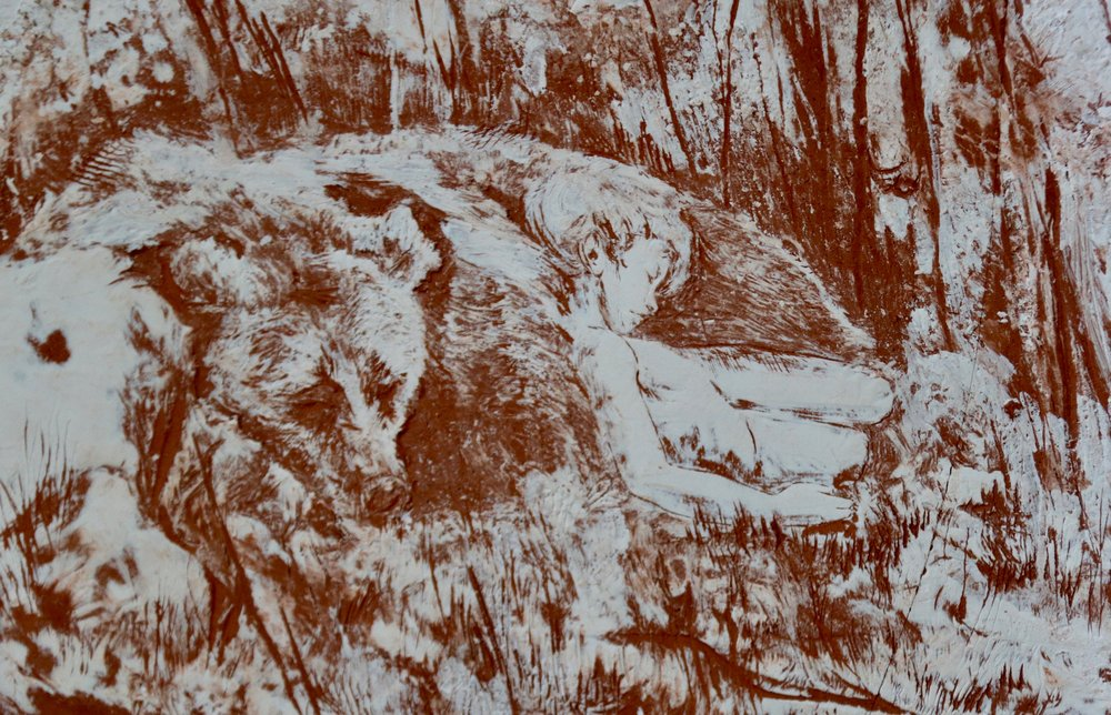 Sleeping in the Forest detail