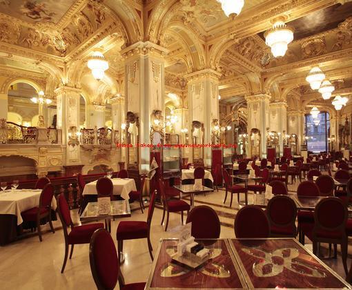 Photo Courtesy of New York Cafe, Budapest, HU