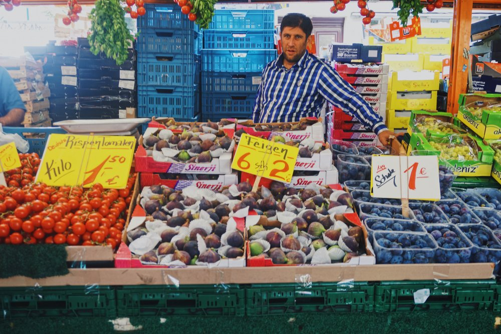 Turkish market in Kreuzberg