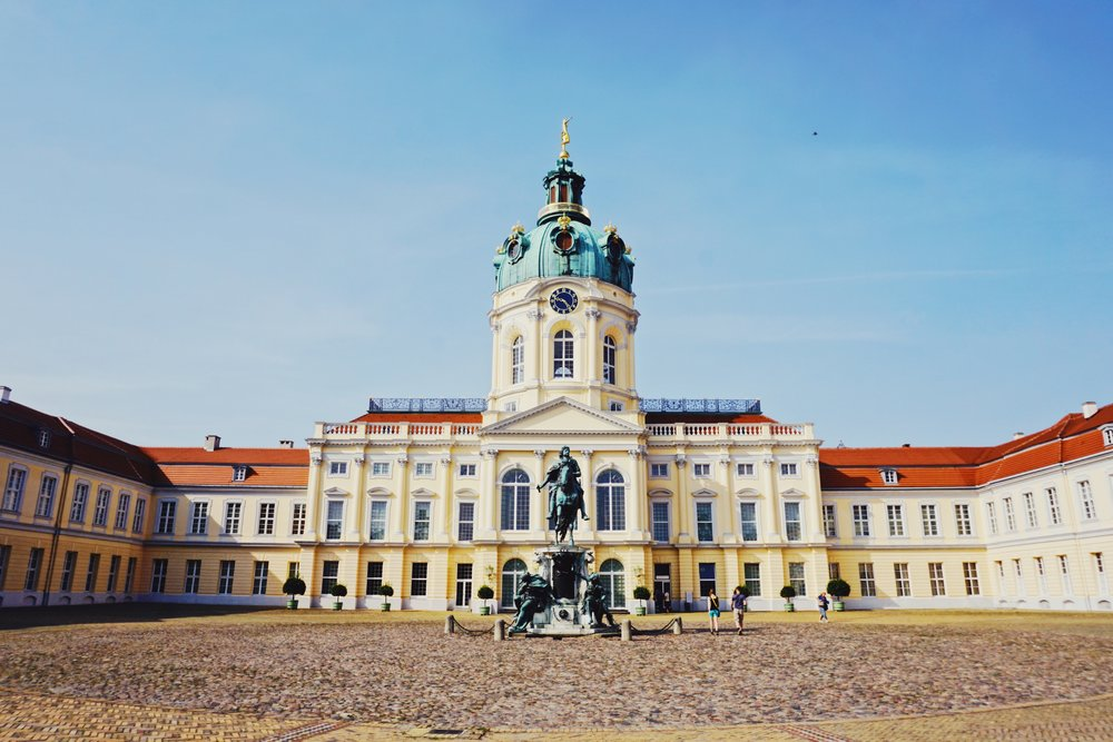 Charlottenburg Palace in West Berlin