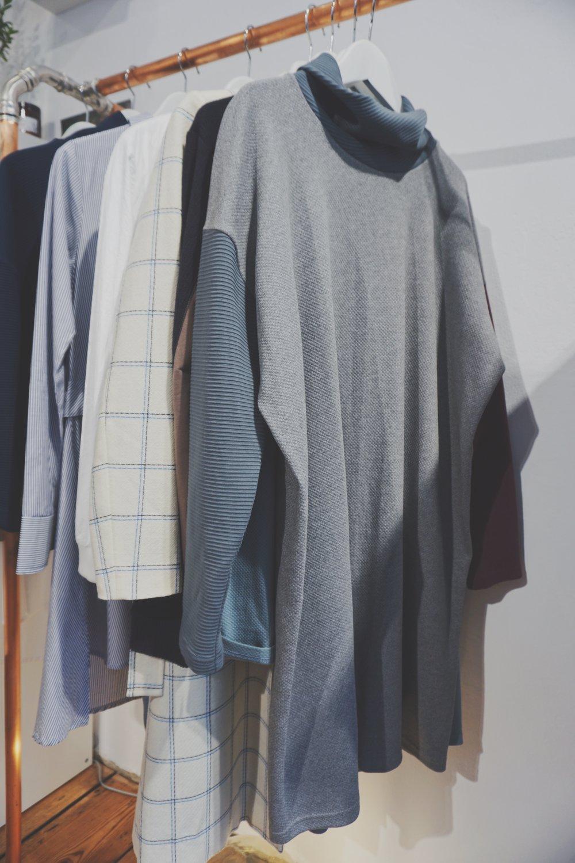 minimalist sweater sustainable fashion Berlin