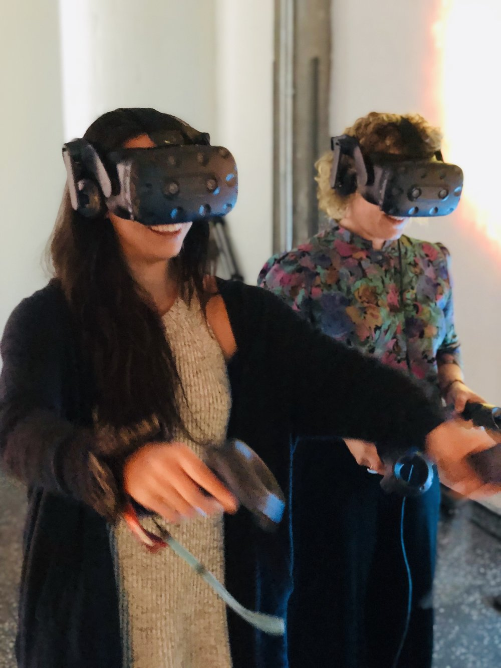"Exploring ""Outer Space"" with our VR headsets"