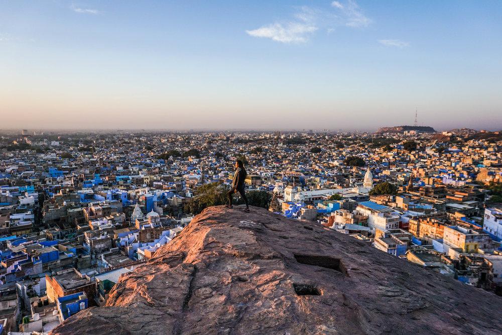 Jodhpur at sunrise (unedited)