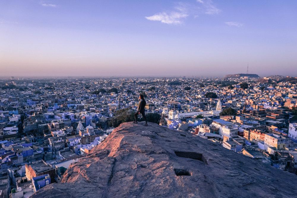 Jodhpur at sunrise (edited)